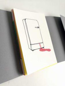 Prototype de livre sd'artiste  Haché menu
